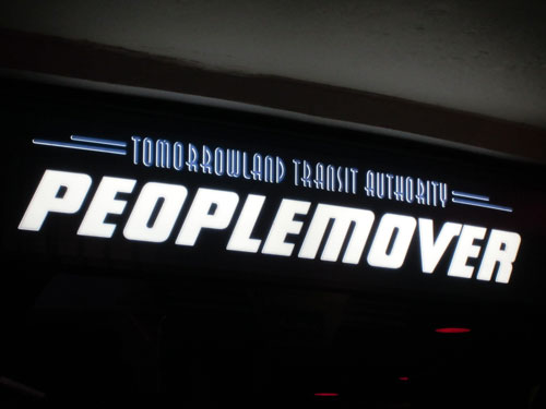 The PeopleMover can be just a little scary.