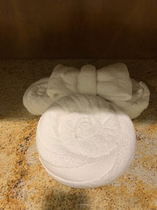 Senses Spa isn't excessively Disney, but there are still some Disney touches like this hidden Minnie!