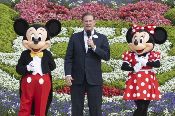 Joe Schott, President and General Manager, Shanghai Disney Resort, presided over the reopening. Photo credits (C) Disney Enterprises, Inc. All Rights Reserved