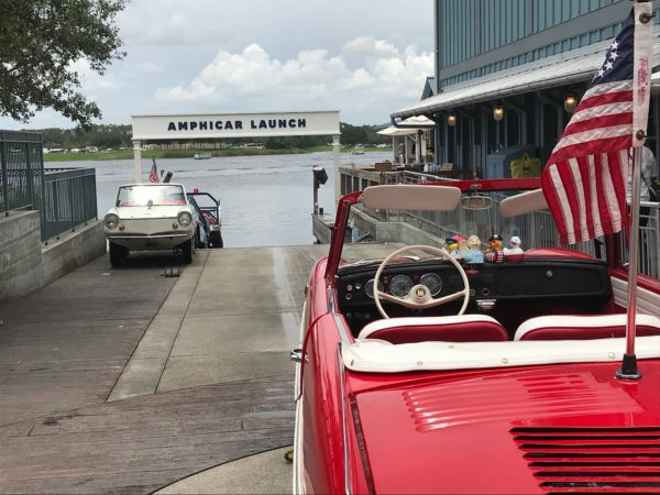 Watch the boats and amphicars or take them for a ride!
