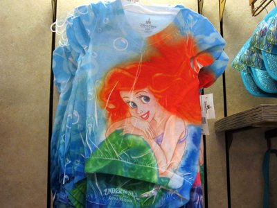 Check out this shirt that is specific to the nearby attraction: Under The Sea - Journey of the Little Mermaid.