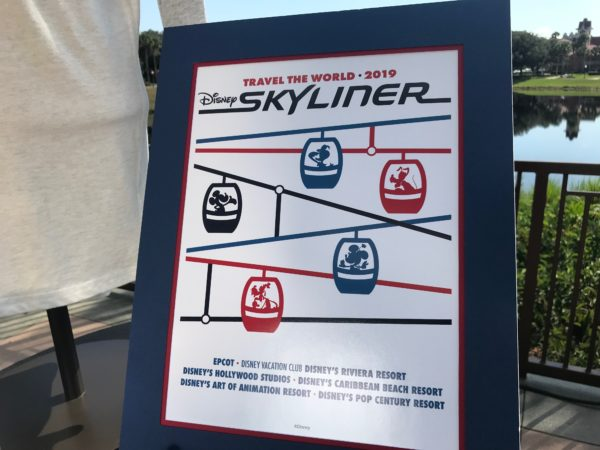 Skyliner poster.