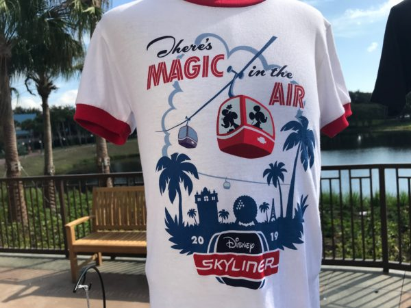 Skyliner shirt: There's Magic in the Air.