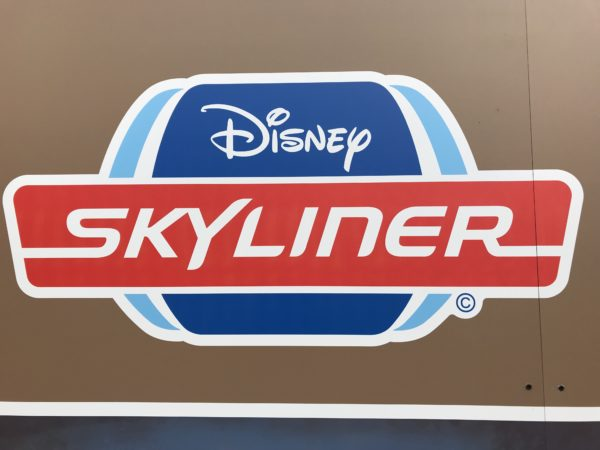 I'm looking forward to a ride on the Skyliner!