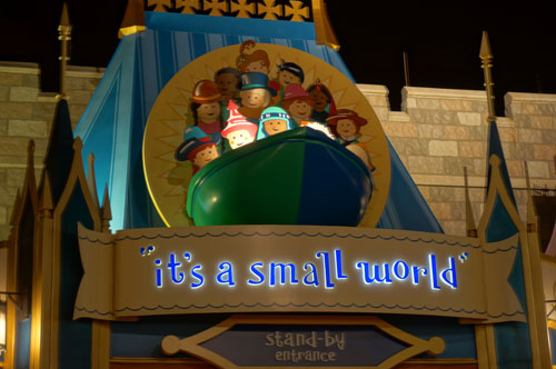 Generations of people have enjoyed it's a small world.