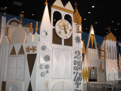 The design of it's a small world was created by Mary Blair.