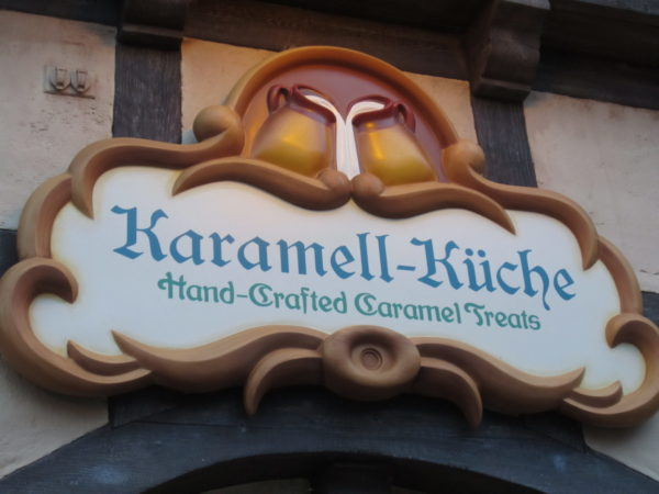 The Karamell-Kuche has so many good treats, you just might have to get more than one!