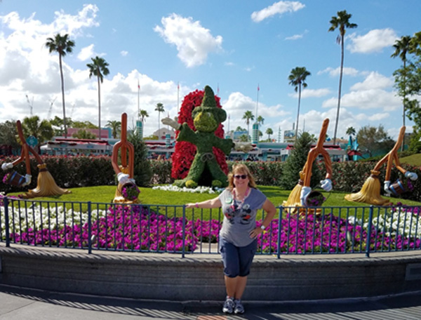 You're never really alone at Disney. You're just surrounded by lots of friends you haven't met.