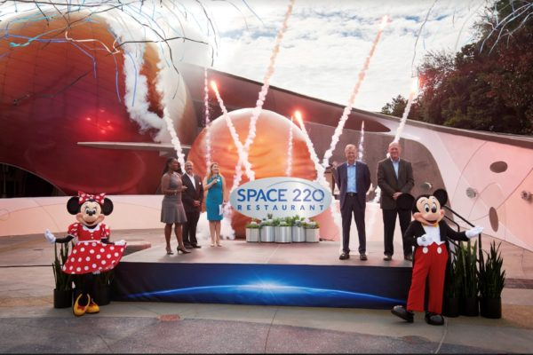 Space 220 grand opening. Photo credits (C) Disney Enterprises, Inc. All Rights Reserved