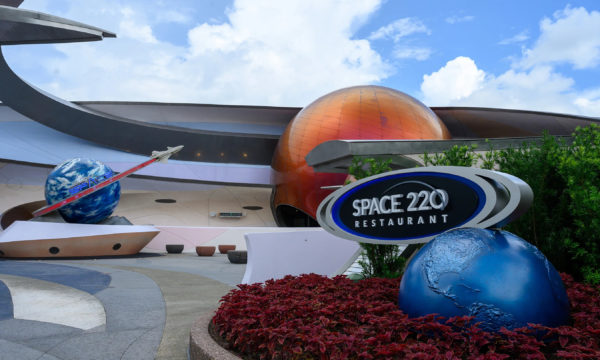 Space 220 is located next to Mission: Space in the World Discover section of EPCOT. Photo credits (C) Disney Enterprises, Inc. All Rights Reserved