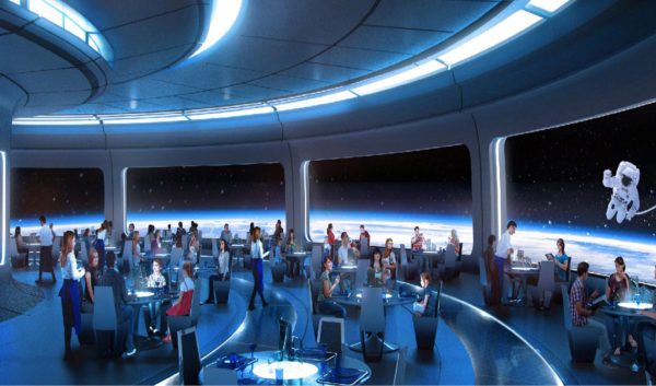 Disney will open a new space-themed restaurant near Mission: SPACE. Photo credits (C) Disney Enterprises, Inc. All Rights Reserved.
