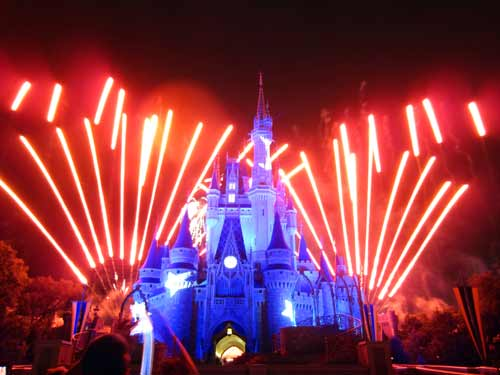 Wishes is an amazing fireworks show completely unique to Disney World.