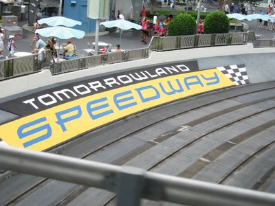 It's not a thrill ride, but the interactive nature of the Speedway makes it popular.