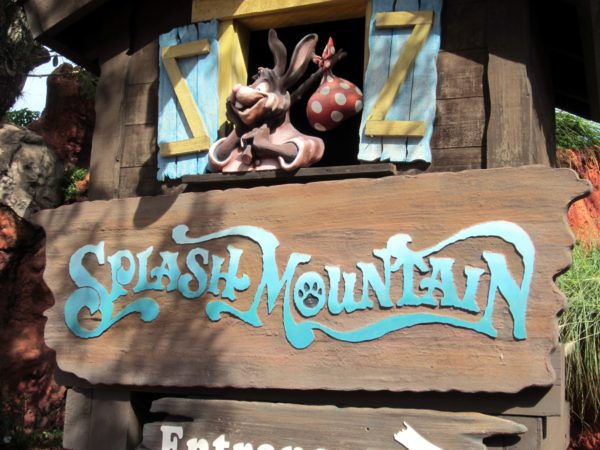 Splash Mountain is a mainstay in the Disney theme parks.