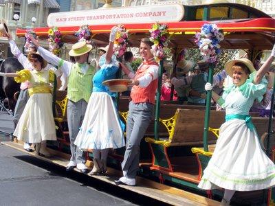 Spring Main Street USA Trolley Show