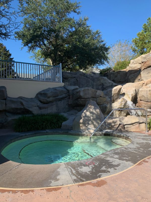 Both feature pools have hot tubs!