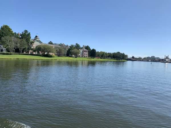 Disney's Saratoga Springs Resort is so serene!