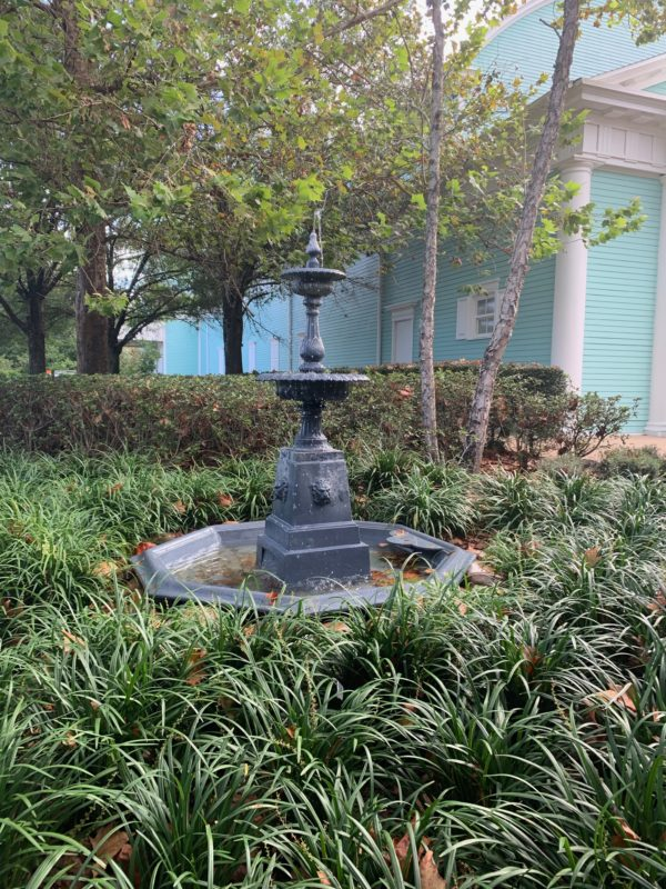 There are beautiful touches like this water fountain throughout the resort.
