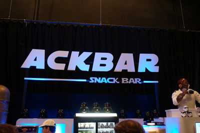I love the name - Ackbar Snack Bar.