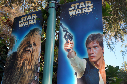 Celebrities are a big part of Star Wars Weekends.