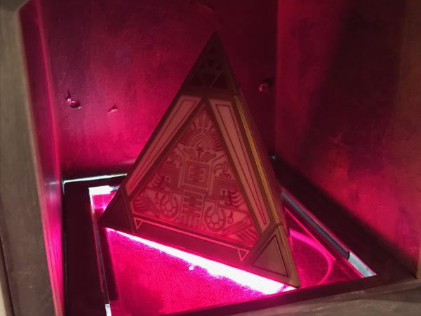 Holocrons are ancient repositories of knowledge and wisdom that can only be accessed by those skilled in the Force.