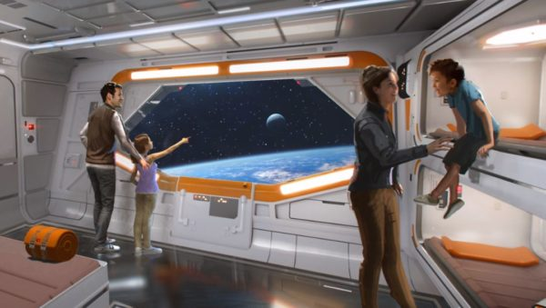 Your room will look like a scene from a Star Wars movie. Photo credits (C) Disney Enterprises, Inc. All Rights Reserved