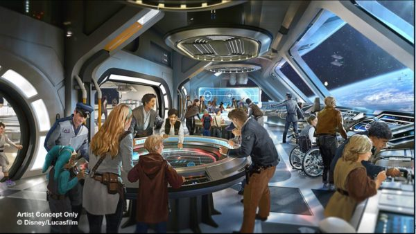 The Star Wars-themed hotel will be like anything that currently exists. Photo credits (C) Disney Enterprises, Inc. All Rights Reserved