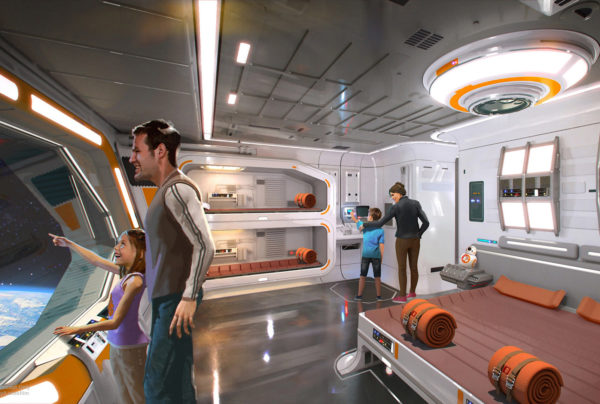 A new luxury Star Wars Hotel. Wow. Photo credits (C) Disney Enterprises, Inc. All Rights Reserved.