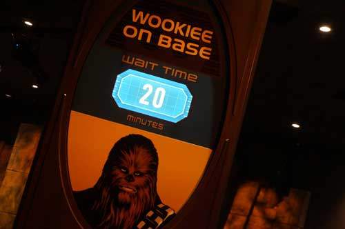 Want to hug a wookie? Here is your chance.
