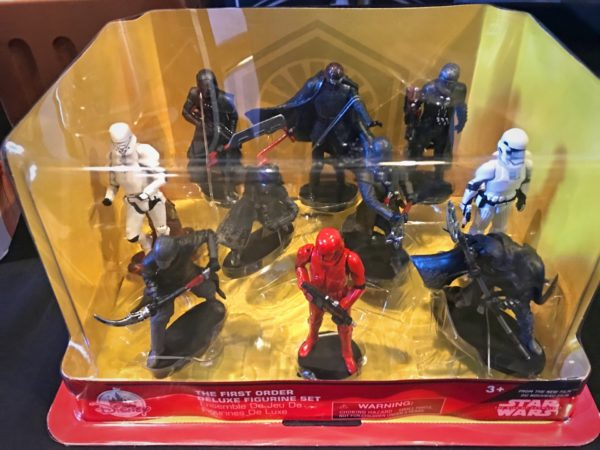 The First Order Figurine Set.
