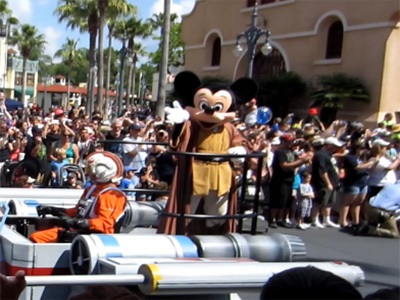 Star Wars Parade Mickey Mouse