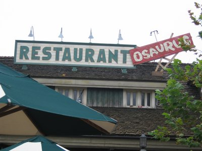 Fortunately Disney did a nice job of matching the theme of the now defunct McDonalds locations inside the theme parks, like at Restaurantosaurus. So we expect that Starbucks won't stick out like a sore thumb.
