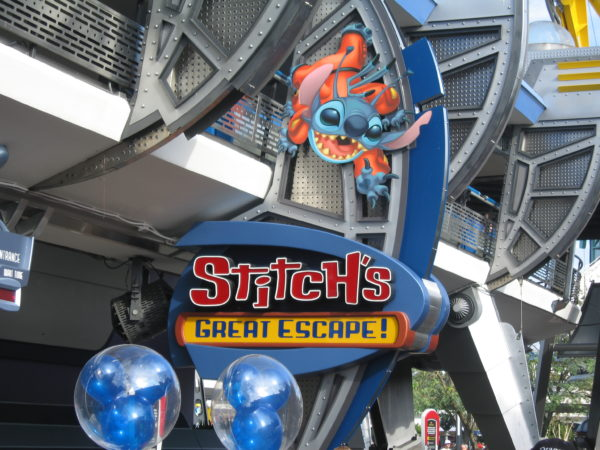 Multiple sources have reported Stitch's sign is now gone.