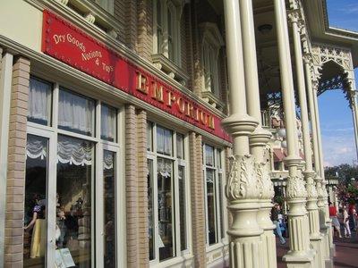 Stores at Disney World