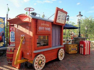 Storybook Circus Hot Dog Wagon