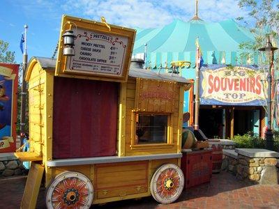 Storybook Circus  Pretzel Wagon