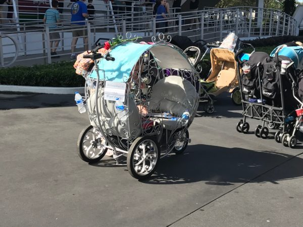 "Disney's new stroller policy, which goes into effect May 1st, 2019, limits strollers to 31"" wide and 52"" long."