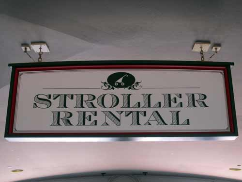If renting a stroller is a better option for you, you can rent from Disney or from a third-party vendor.