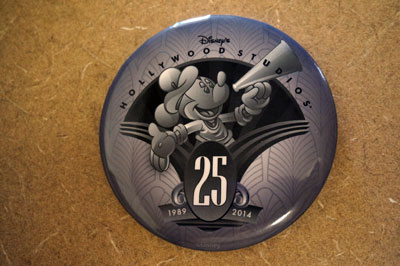 Folks who entered the Studios on the morning of May 1 received a free anniversary button.