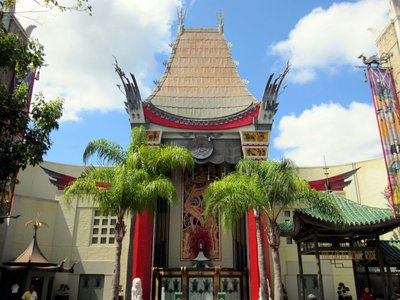 "The Chinese Theater is the original ""weenie"" or main visual draw for the park."