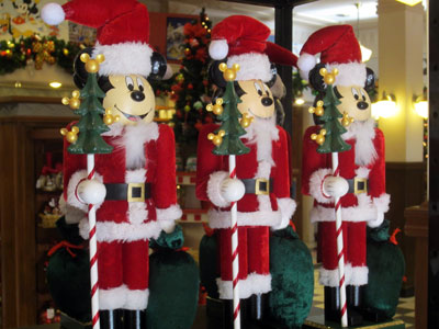 These Mickey Mouse nutcrackers are pretty cool.