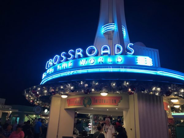 Disney's Hollywood Studios is decorated for Christmas!