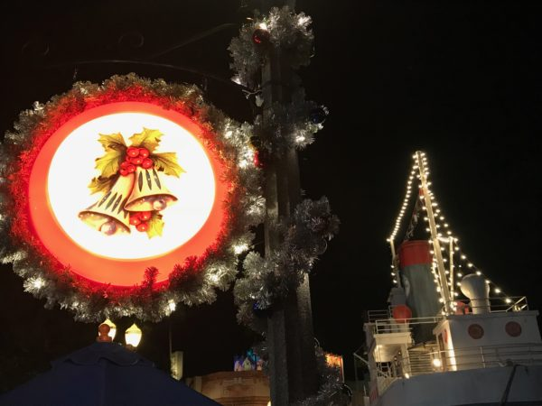 Hollywood Studios' decorations are more classically Christmas than other theme parks.