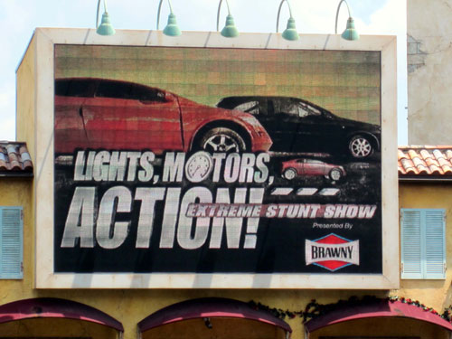 Lights, Motors, Action Extreme Stunt Show is now part of Disney history.