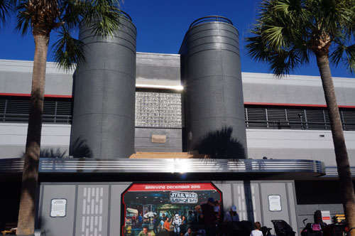 Work continues on the Star Wars Launch Bay - coming in December 2015.