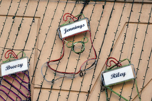 Sadly, this will be the last year the Osborne lights make an appearance at Disney's Hollywood Studios. Will the be the last time we see Jennings Osborne's Christmas stocking?