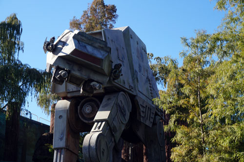 The AT-AT Walker. Impressive.