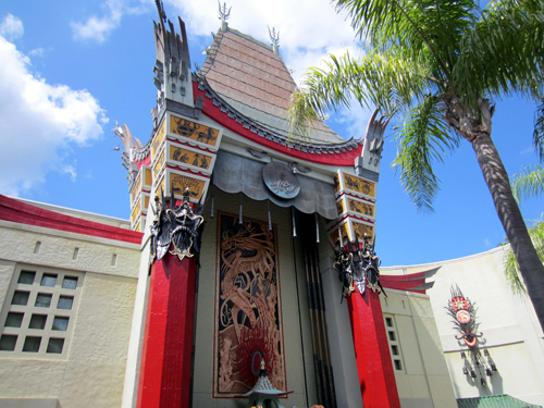 Will the Chinese Theater fit in with the new Hollywood Adventure theme? We'll find out in the next few years.