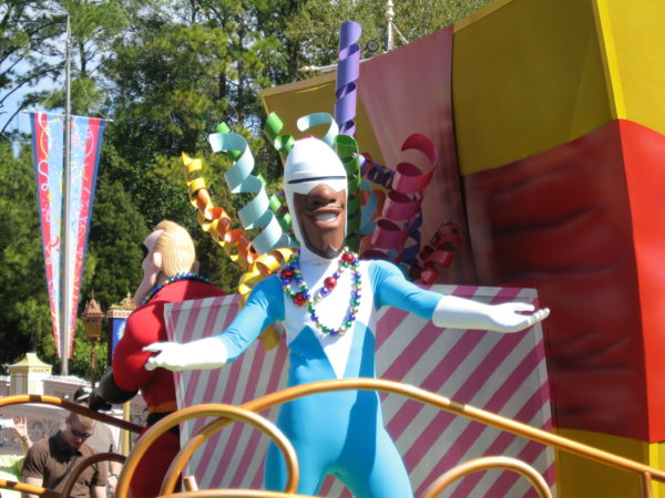 Imagine seeing Frozone do really cool stunts right in front of you in the parks! Stuntronics just might make that possible!