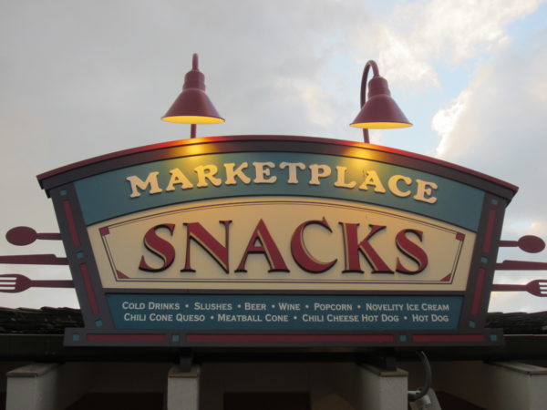 Snacks are available in several locations around Disney World in theme parks and resorts.